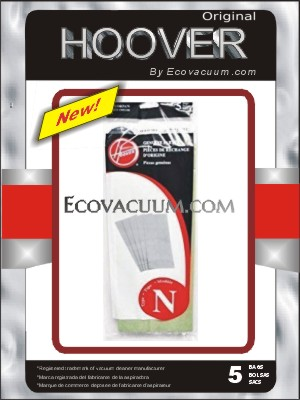H 4010038n Bag Hoover Type N Paper Portapower